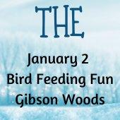 Save the Date: January 1 Bird Feeding Fun Gibson Woods