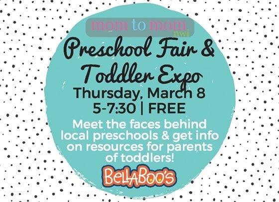 Preschool Fair Thursday March 8 5-7:30